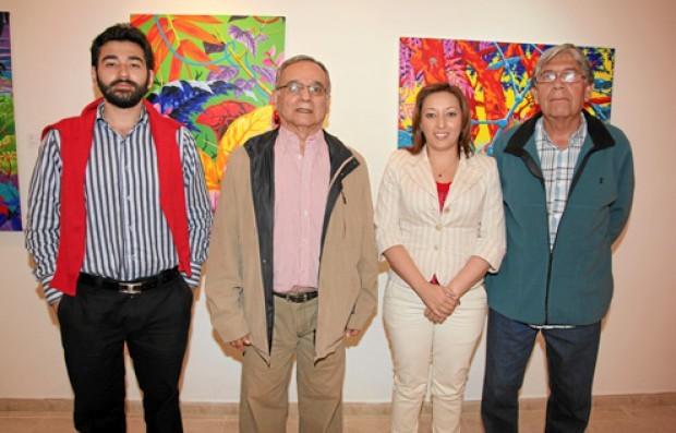 Fotos | Argemiro Idárraga | LA PATRIA Sebastián Rodríguez Cárdenas, Octavio Hernández Jiménez, Marcela Echeverri Henao y Carlos Velásquez Sánchez.