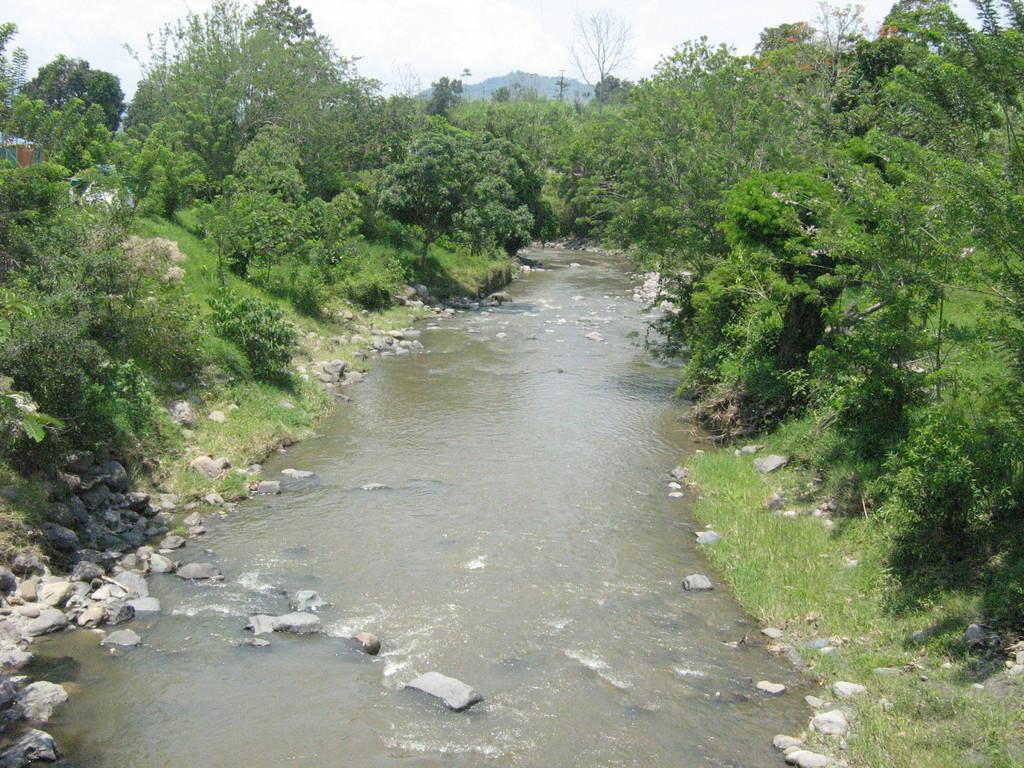 Quebrada Llanogrande junto a la desembocadura K41