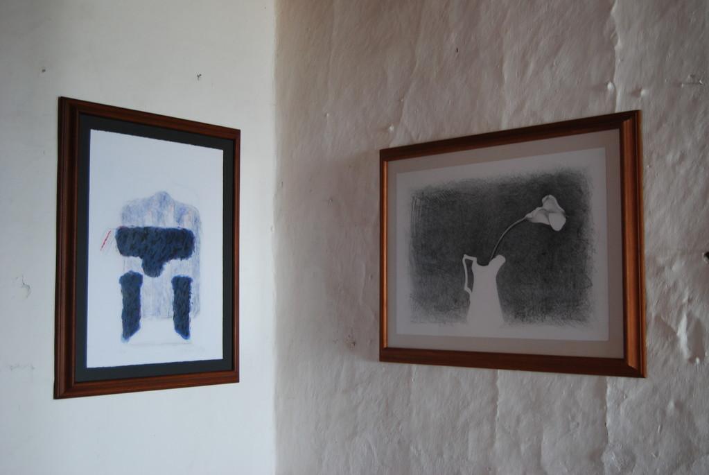 Grabados de Manuel Hernández y Santiago Cárdenas (Bogotanos)