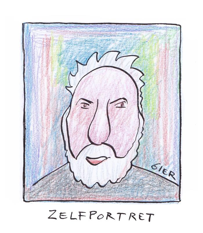 Cartoonist o.a. WSC Gier.