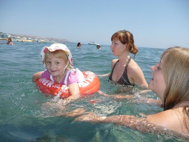 ich kann alleine schwimmen!