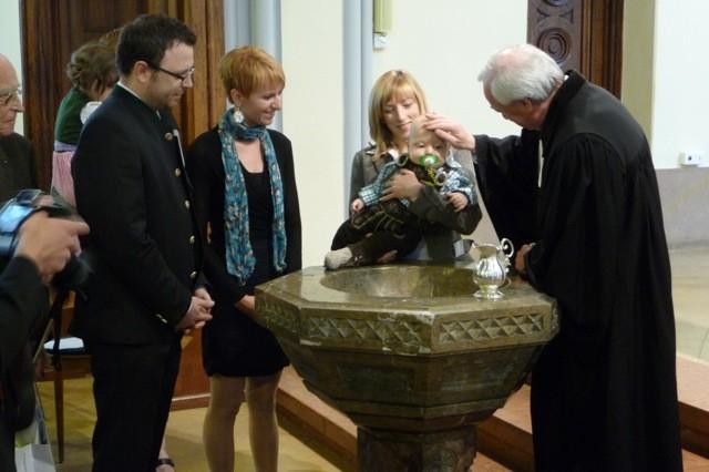 Taufe von Moritz