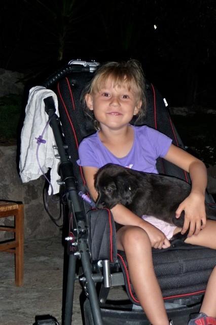 Urlaub in Griechenland: Den Hund hätte ich am liebsten mitgenommen :-)