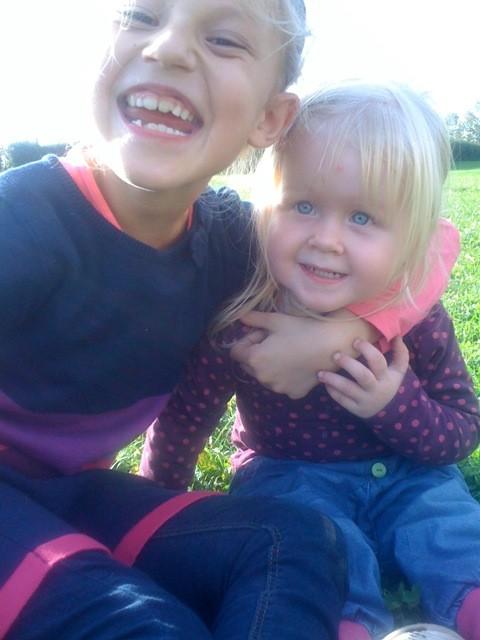 Mit meiner Cousine Jana!