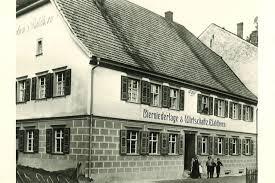 Das Gasthaus Waldhorn vor 1900