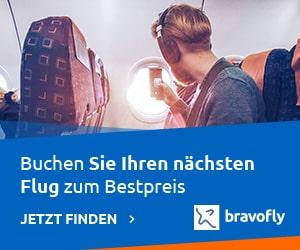 Freigepäck Bravofly