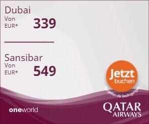Freigepäck Qatar Airways