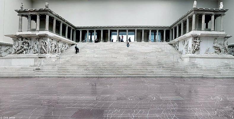 Weltberühmt: der Pergamonaltar