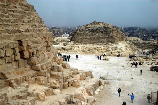 Königinnenpyramide an der Chefren
