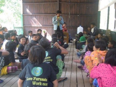2. Lecture by staff prior to forest observation