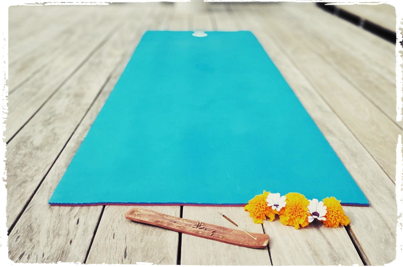 Yogastunden im Sommer