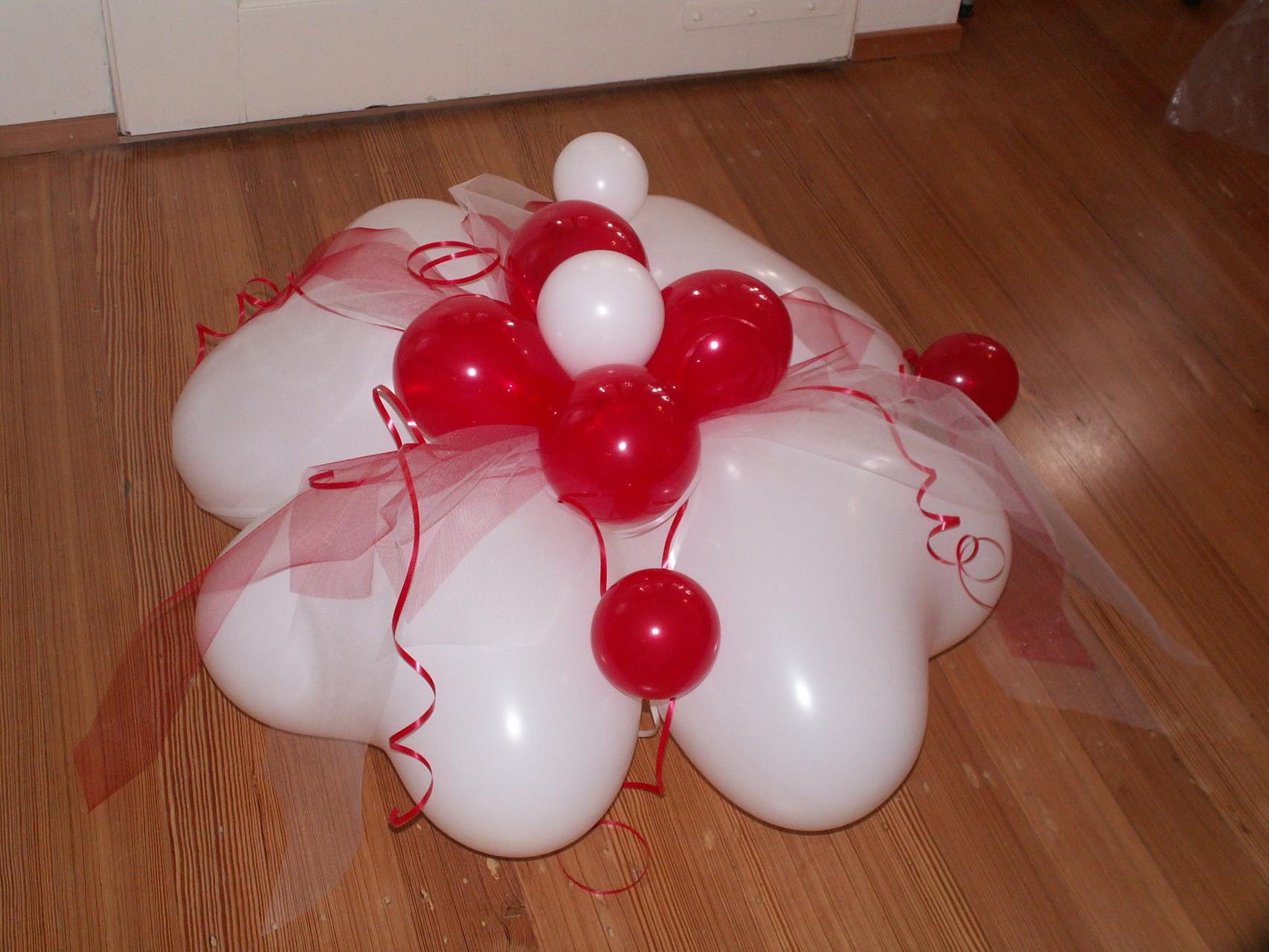 Herzgewicht für Heliumballons