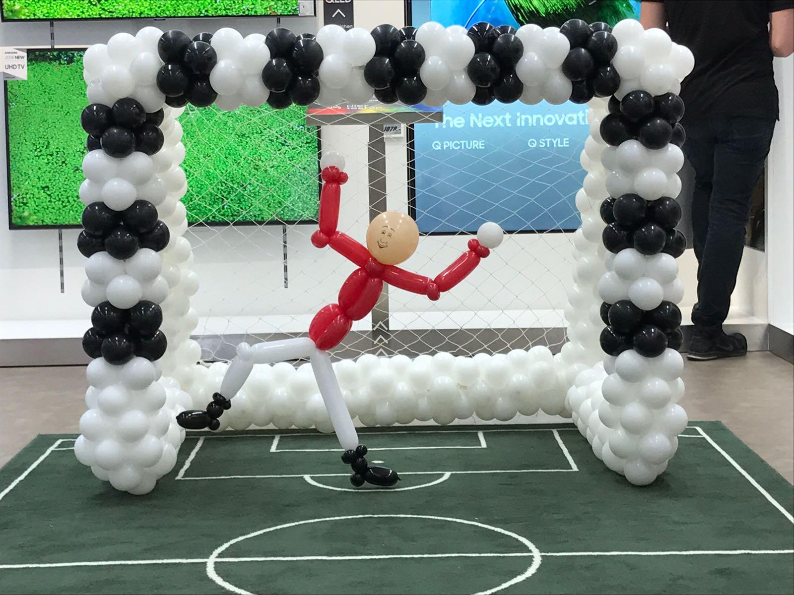 Skulptur Fussball