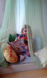 So schön gemütlich ist es in der Bilderbuchecke der Kinder!!!!!