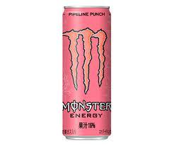 ピンクのモンスターエナジー