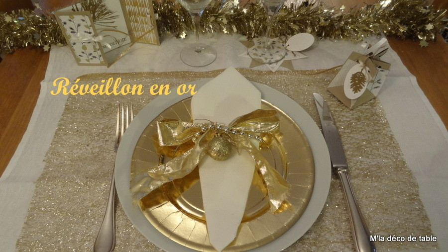 R veillon m 39 la d co de table - Deco table reveillon ...