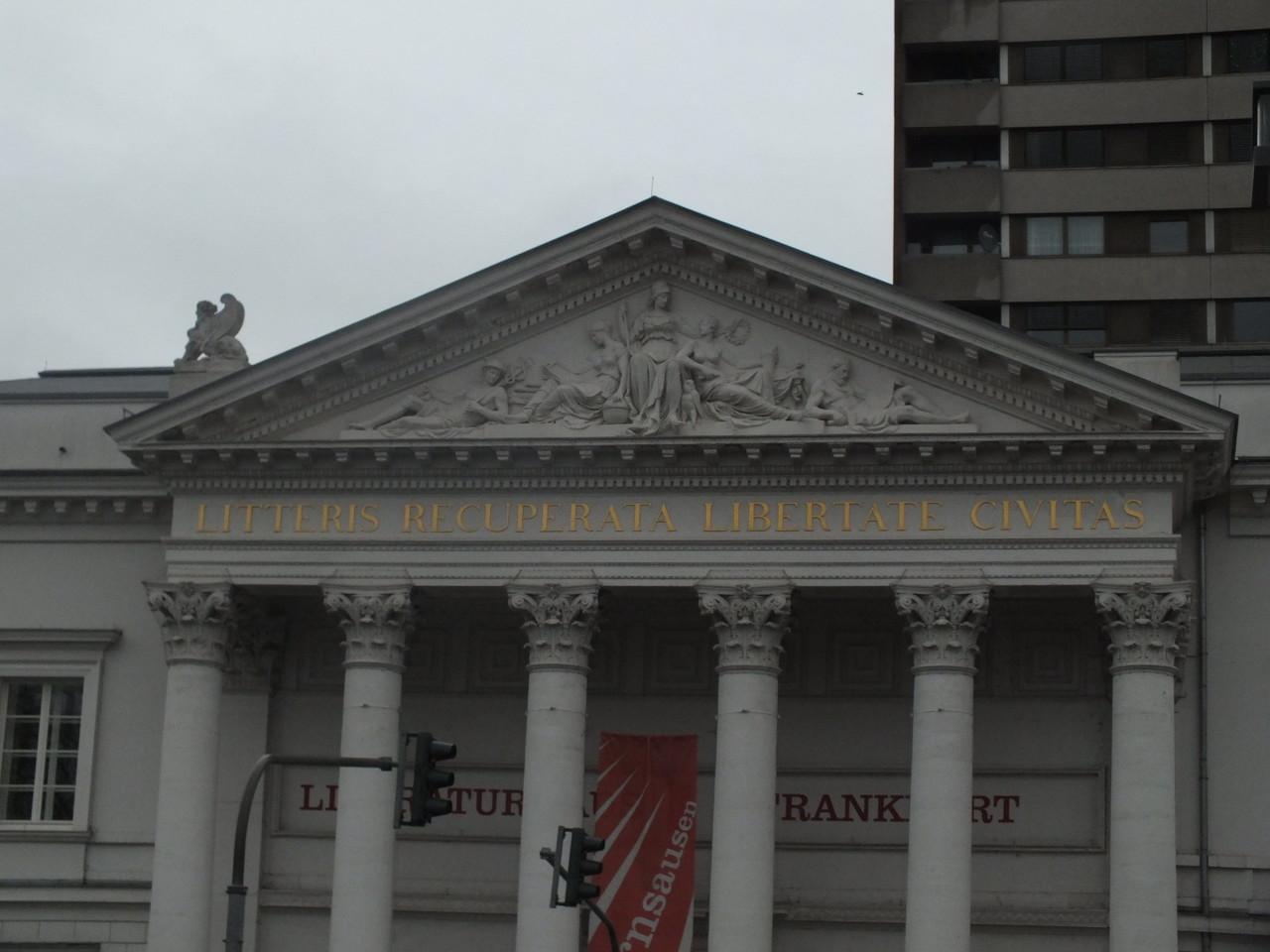 Haus der Literatur (vor dem 2. Qeltkrieg: Stadtbibliothek; im Krieg zerstört und wideraufgabaut)