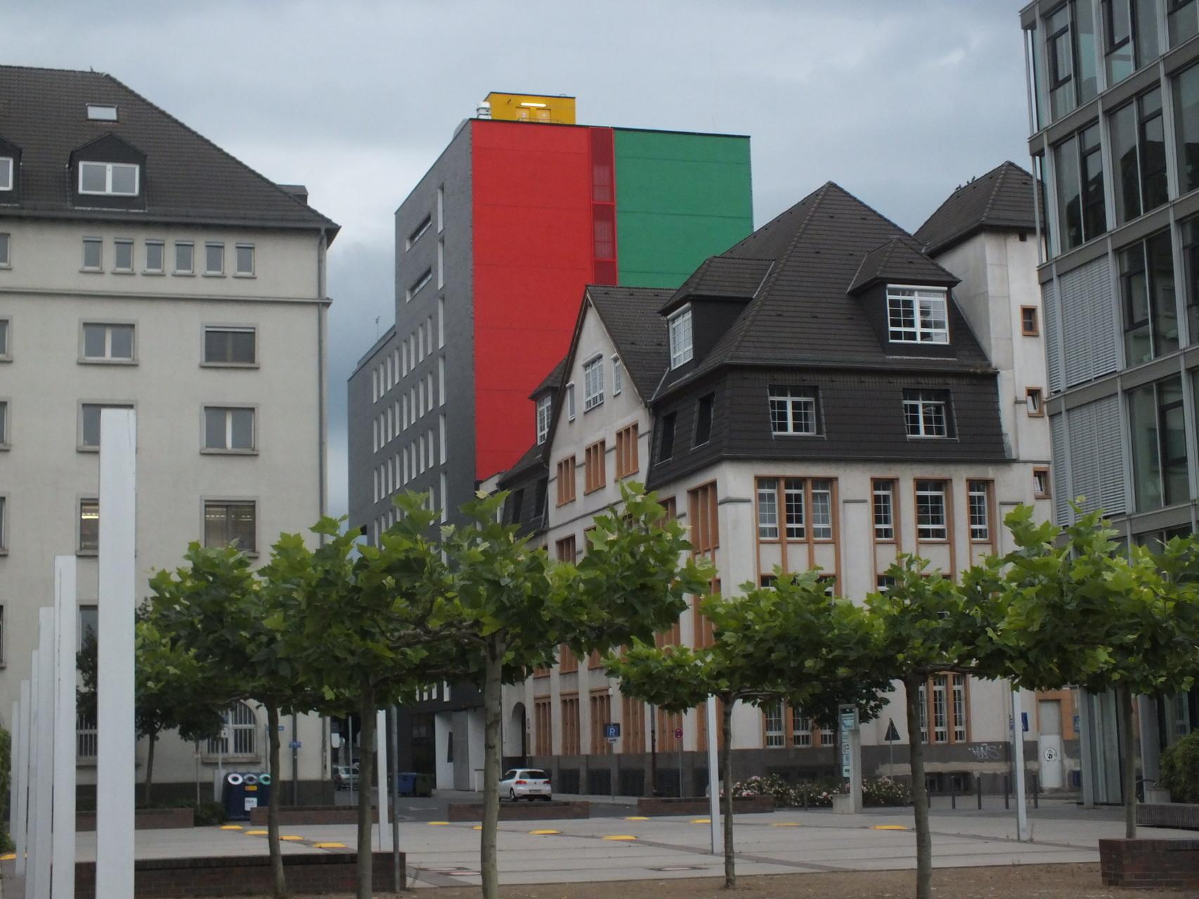 Lindleystraße mit Blick in die Schwedlerstraße