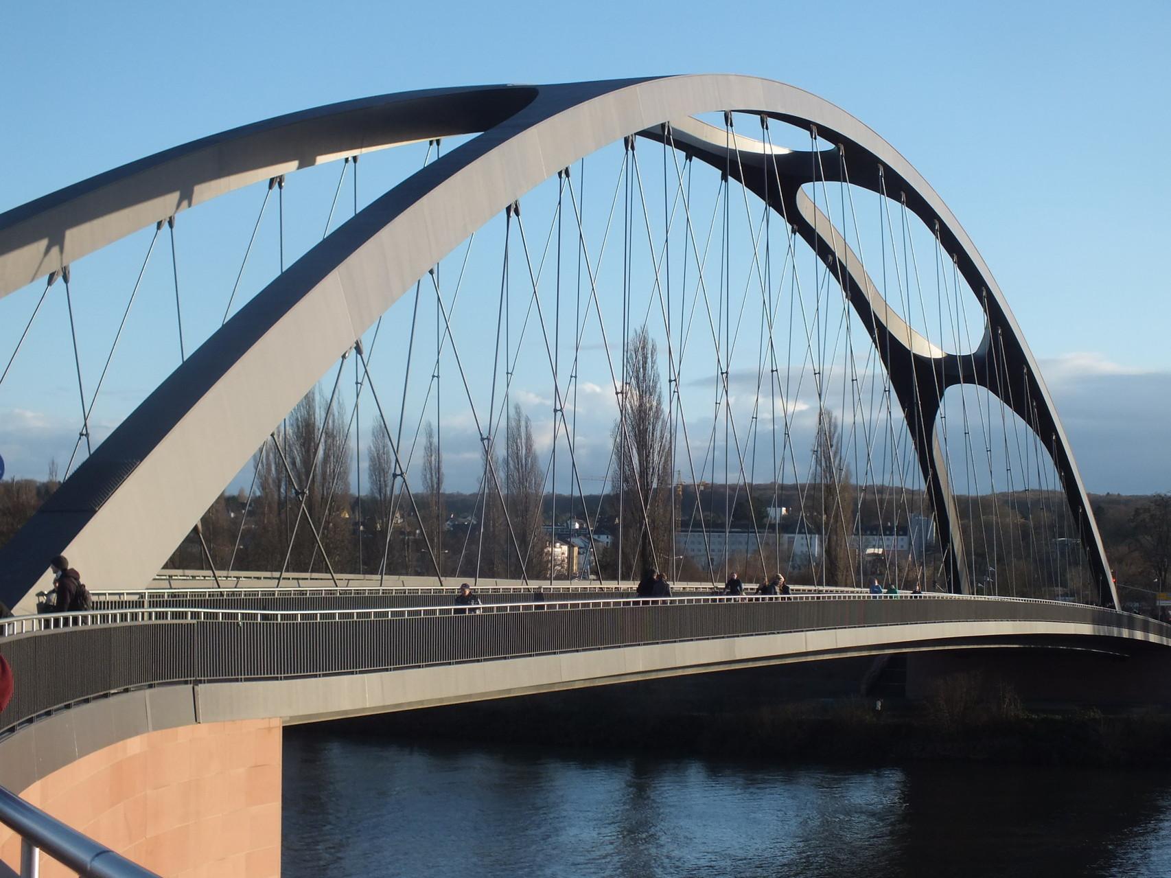Osthafenbrücke (eröffnet 2014)