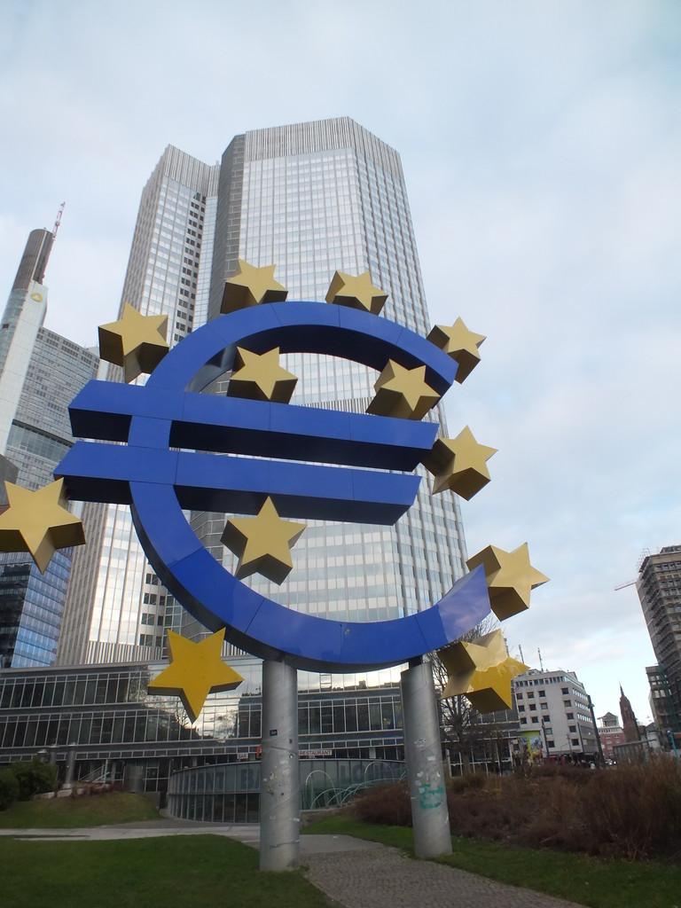 EZB am Willy-Brandt-Platz