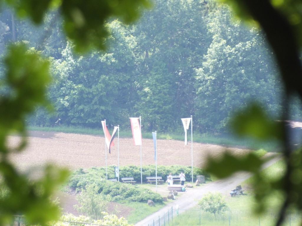 Gelnhausen-Meerholz: Blick zum Mittelpunkt der EU