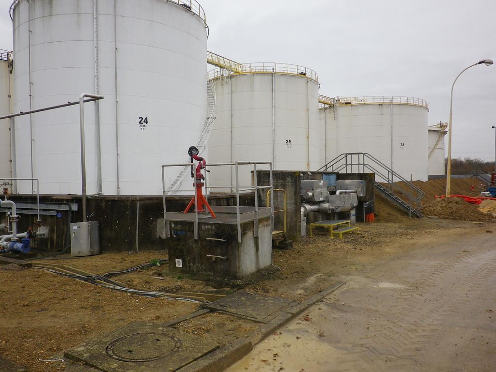 Station de stockage de carburant à Coignières (78)
