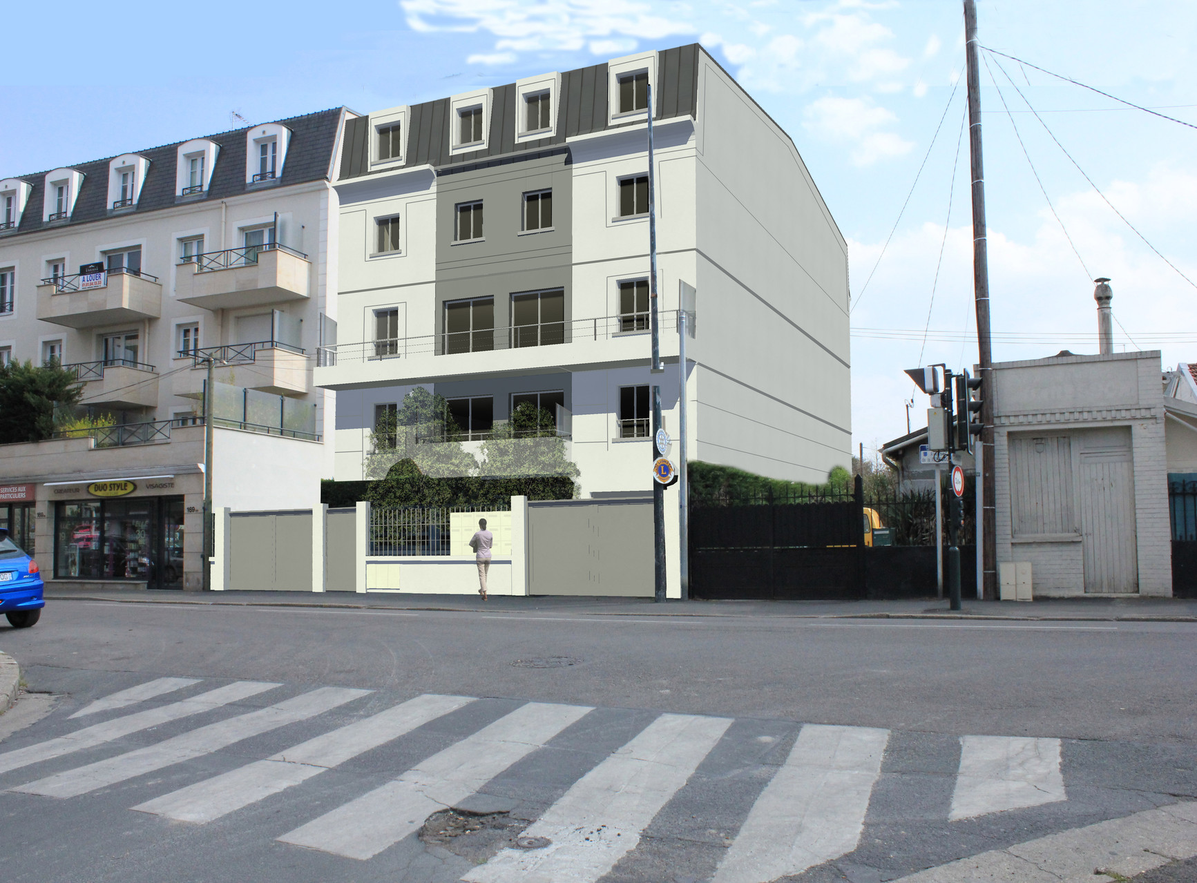 Immeuble de logements collectifs à Sartrouville (78)