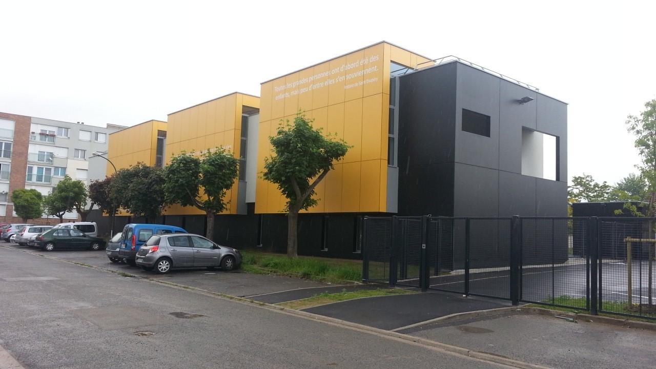 Ecole maternelle à Achères (78)
