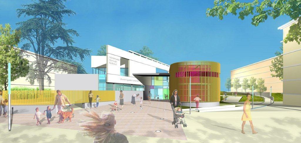 Ecole St Exupéry à Sarcelles (95)