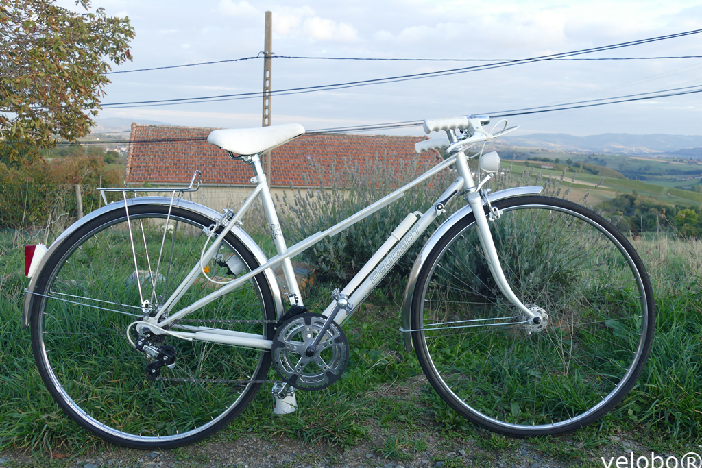 PEUGEOT BOURGOGNE - 51CM - FRAME CRMO (NEW -> just went out from its pack!! plastic protection still there)