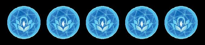 5 Lumina-Orbs als Wertung für New Pokémon Snap für die Nintendo Switch.
