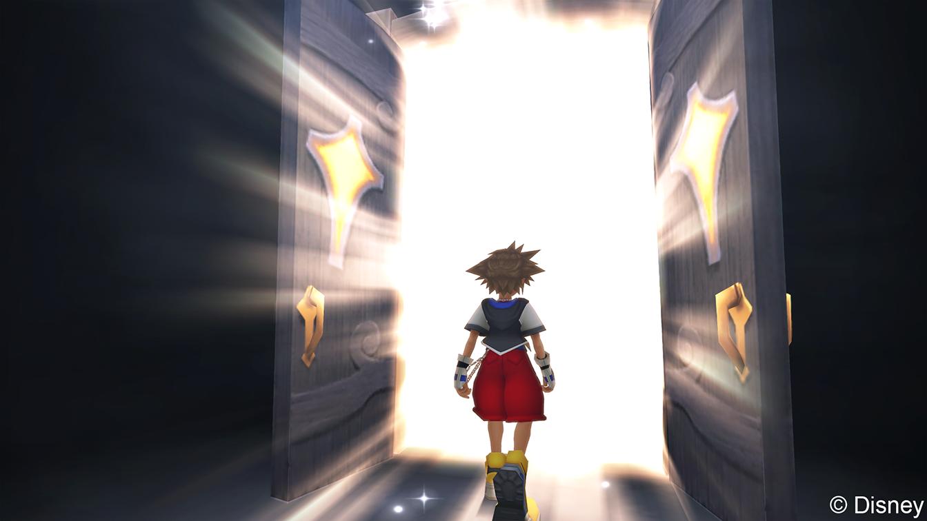 Gemeinsam mit Protagonist Sora begebt ihr euch auf's Abenteuer.