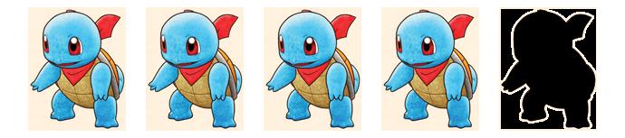 Pokémon, Pokemon, Mystery Dungeon, Retterteam, Spin-Off, Spin off, Chunsoft, Nintendo, Switch, DS, Remake, Remaster, Rot, Blau, DX, Gengar, Simsala. Despotar, Schiggy, Pikachu, Glumanda, Glurak, 2005, Rescue Team, GBA, Gameboy, Advance, Roguelike, Dungeon