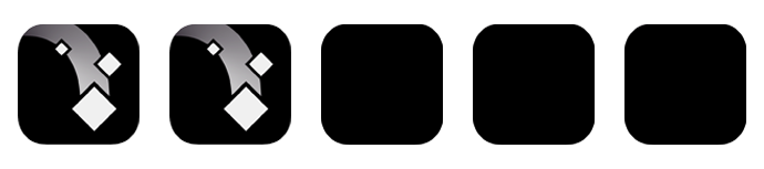 Mosaic, Raw Fury, Krillbite, Adrian Husby, 1%, Love, BlipBlop, Handy, Smartphone, grau