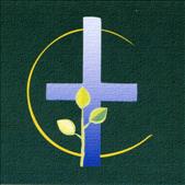 Wandteppich beim Altar