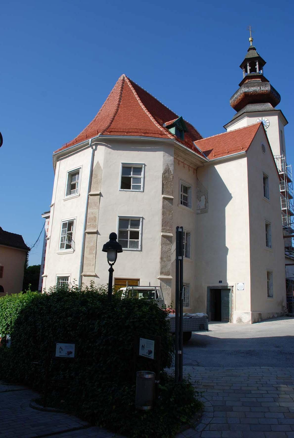 Restaurator Hubert Schwarz ehem. Katharinenkirche Frohnleiten