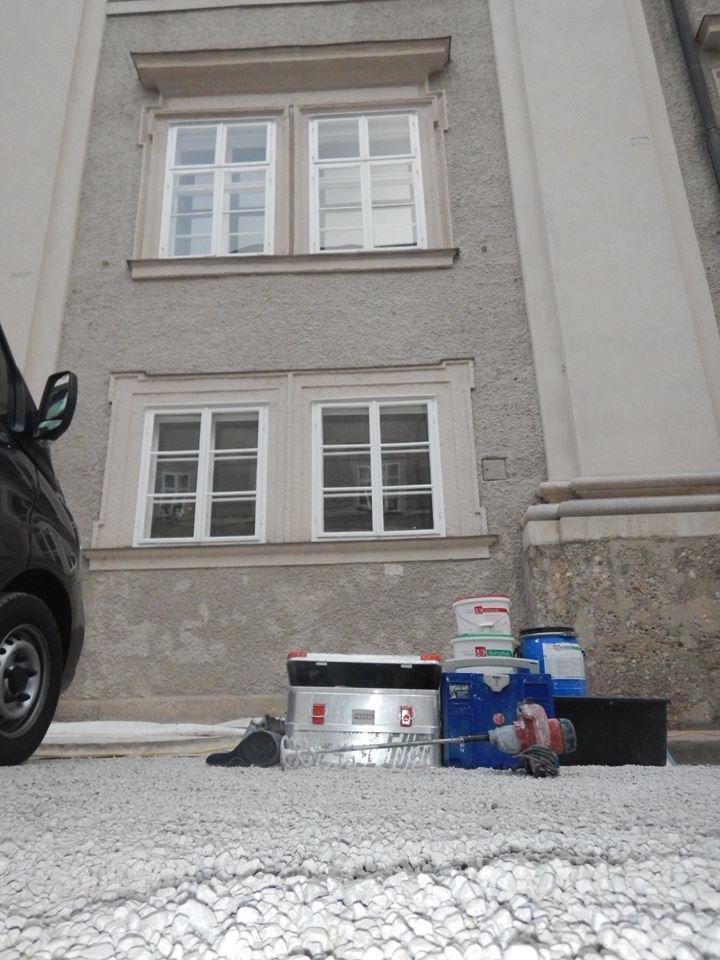 Malermeister Michael Gühl Residenz Salzburg Bemusterung BDA