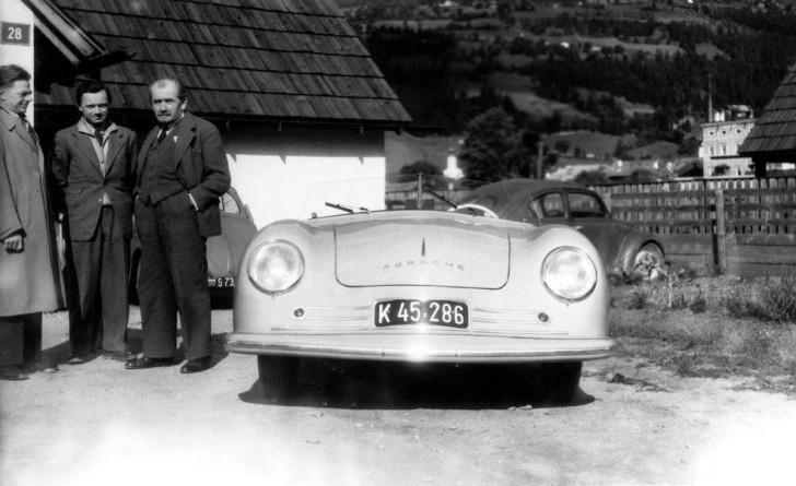 Erwin Komenda, Ferry und Ferdinand Porsche, Porsche 356 Nr. 1: DESIGN KOMENDA