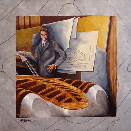 Artist Michael Jekot: Erwin Komenda in Gmünd