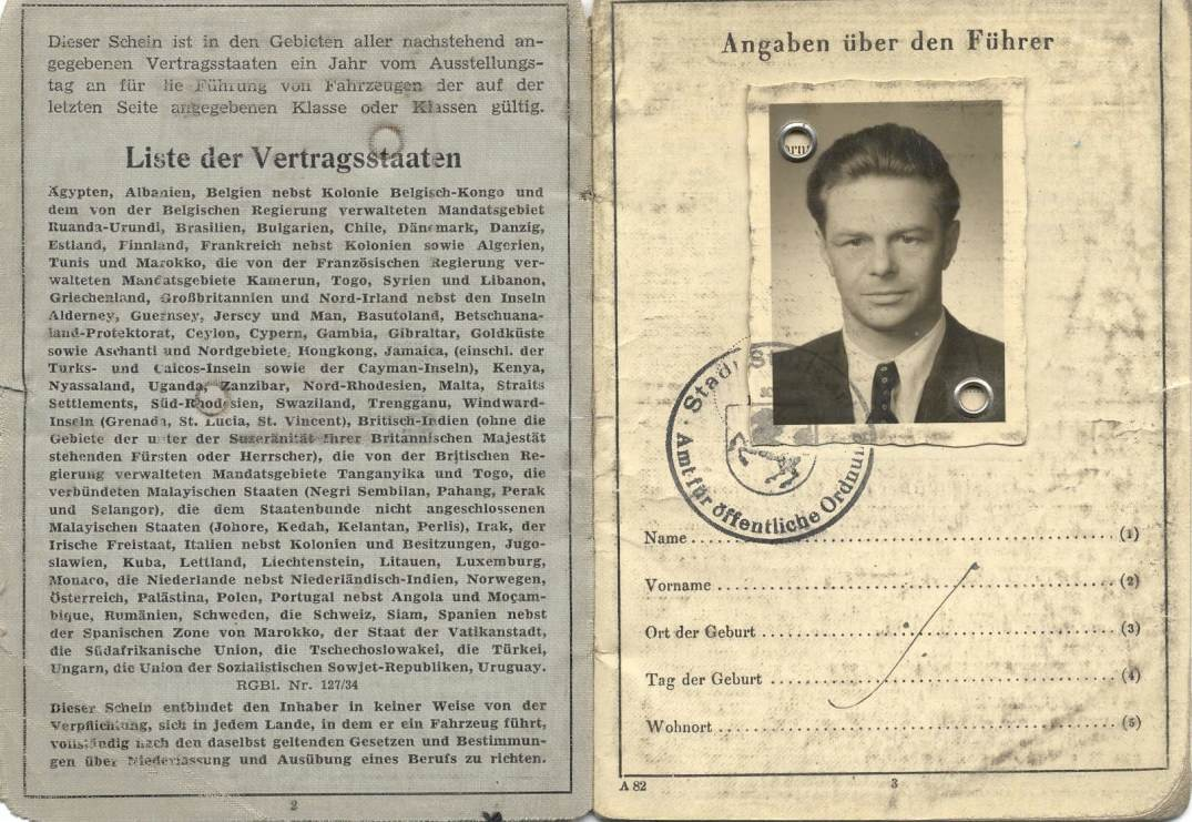Internationaler Führerschein / International Driving License
