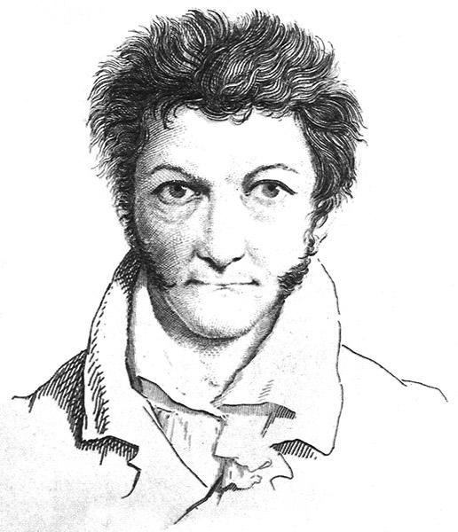 E.T.A. Hoffmann, Selbstportrait