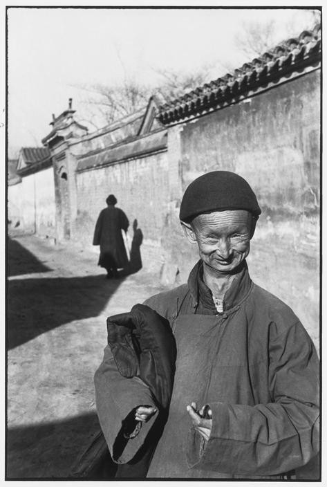 CHINA. Beijing. December 1948. A eunuch of the Imperial court of the last dynasty
