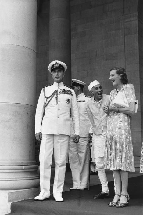 India. Delhi. Government House. 1948
