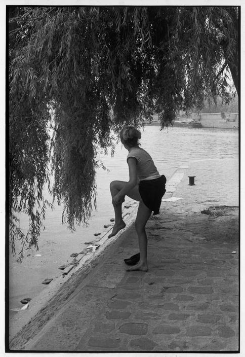 FRANCE. Paris. Square du Vert-Galant. 1955.