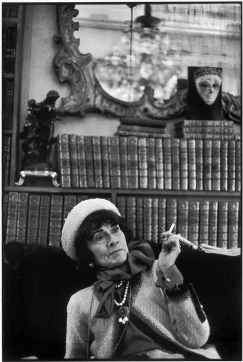 FRANCE. Paris. French fashion designer Coco CHANEL. 1964.