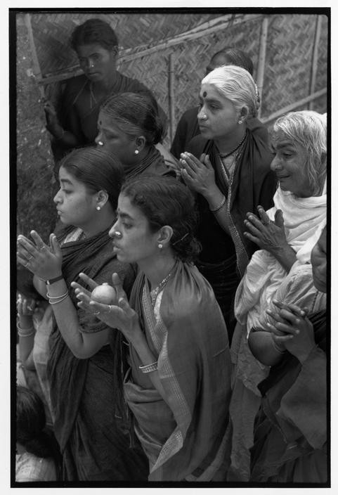 INDIA. Tamil Nadu. Tiruvannamalai. 1950. Funeral of the Bhagwan Sri Ramana Maharshi