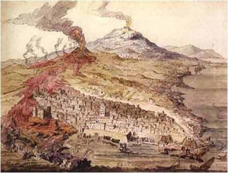 L'eruzione dell'Etna del 1669
