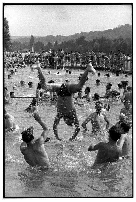 FRANCE. Ile-de-France. Yvelines. 1955.