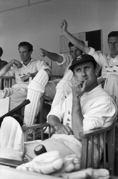 GREAT BRITAIN. British cricket player, Ted DEXTER. 1961