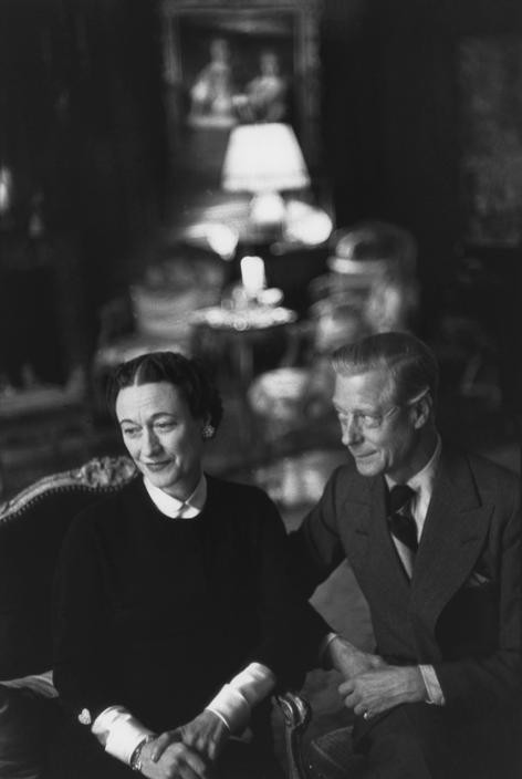 FRANCE. Paris. 1951. Prince Edward, Duke of Windsor with his wife at their home, rue de la Faisanderie